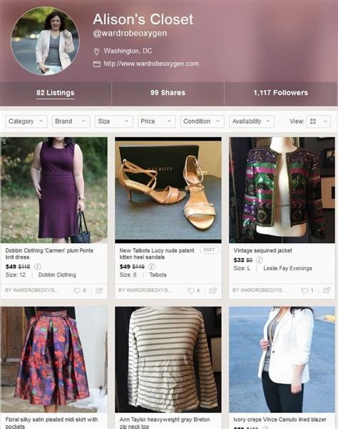 my closet reviews poshmark user review and experience wardrobe oxygen