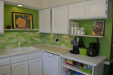 contact paper for kitchen backsplash crafty faux glass tile backsplash 8301