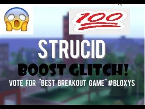 boost glitch  strucid strucid roblox youtube