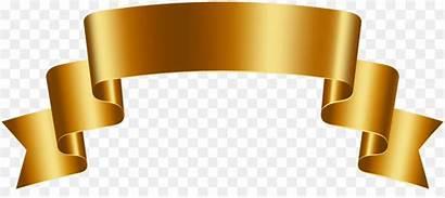 Banner Gold Golden Banners Luxury Clip Clipart