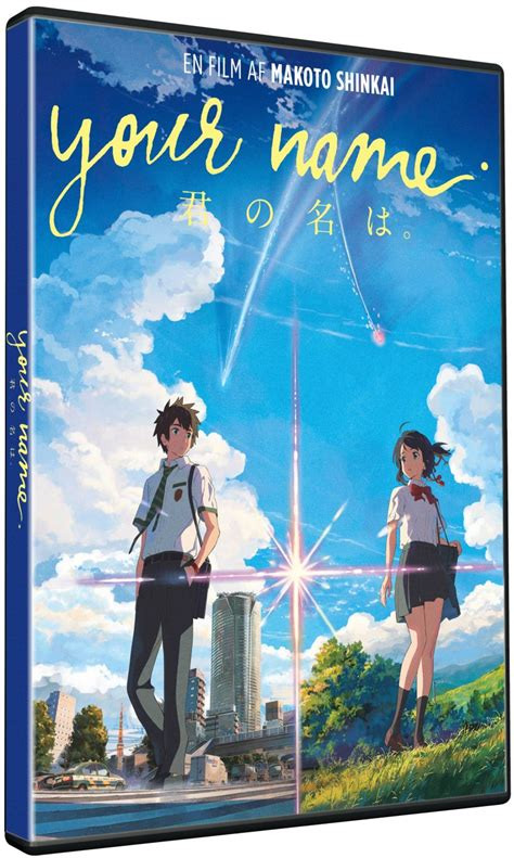 Dvd Of Kimi No Na Wa Your Name With Chineses Subtitles Your Name Kimi No Na Wa Dvd Dvdoo Dk