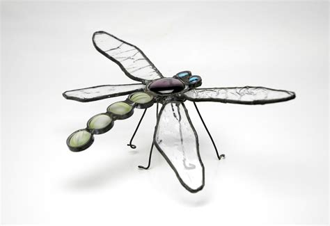 dragonfly stained glass l free stained glass dragonfly stock photo freeimages com