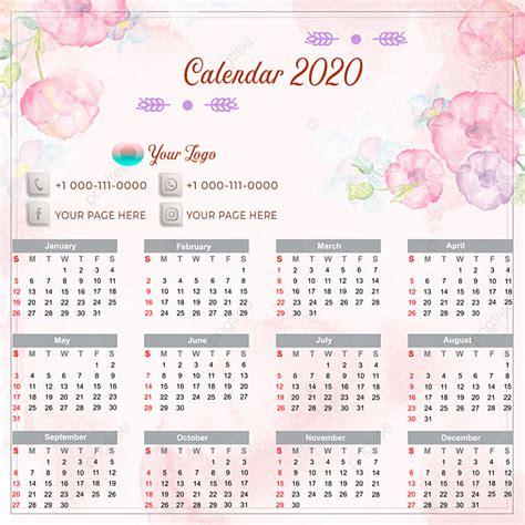 calendar  flower shop  calendar template