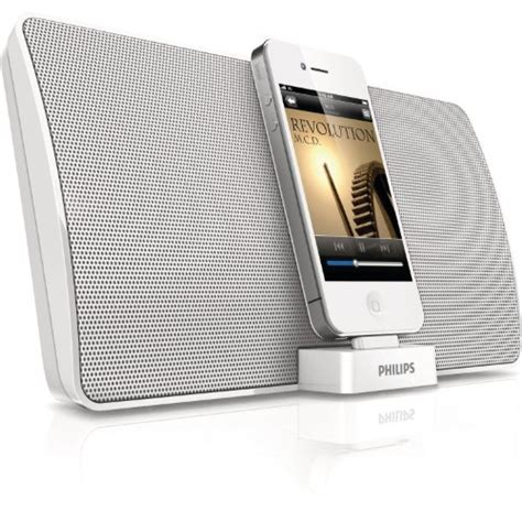 iphone station with speakers philips iphone 4 4s ipod speaker dock station