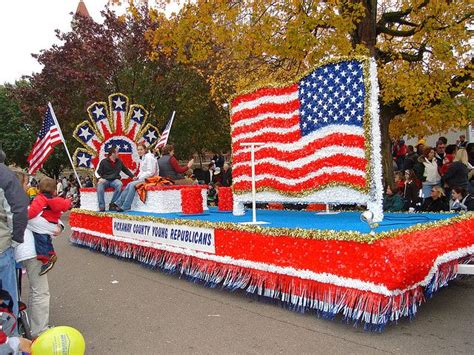 patriotic float float ideas christmas parade floats