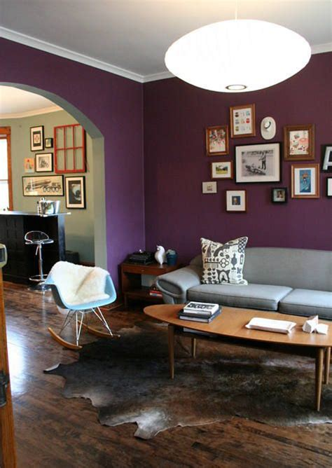 grey and purple living room paint 25 best ideas about purple walls on