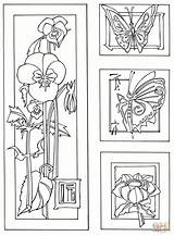 Coloring Coloriage Easy Sheets Imprimer Animal Tegninger Bamboo Flowers Butterflies Seniors Til Crossing Printable Care Blomster Gratuit Fleurs Aged Healthcare sketch template