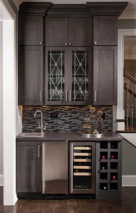 Awesome Dining Room Bar Cabinet #5 Small Wet Bar Design