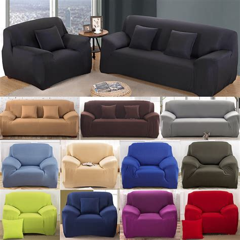 stretch sofa seat covers easy stretch couch sofa lounge covers recliner 1 2 3 4
