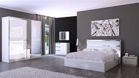 chambre a coucher style contemporain charmant chambre a coucher blanc design avec cuisine