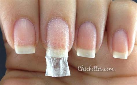 repair  broken nail   tea bag chickettes natural