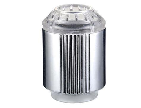 ed changing temperature sensor water tap