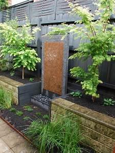 la deco exterieure avec une fontaine murale With fontaine de jardin moderne 3 la deco exterieure avec une fontaine murale archzine fr