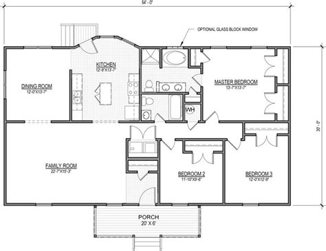 most popular house plan the kaplin is a ranch style home with 3 bedrooms and 2