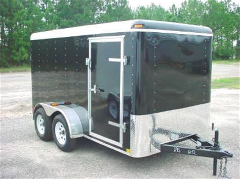 v nose trailer plans 7x14 enclosed trailer 7 x 14 tandem axle trailers