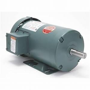 Leeson Industrial Motor  U2014 2 Hp  1725 Rpm  460  208 U2013230