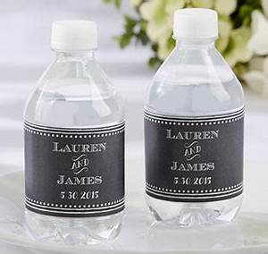 personalized water bottle labels wedding water bottle labels With cheap water bottle labels for wedding