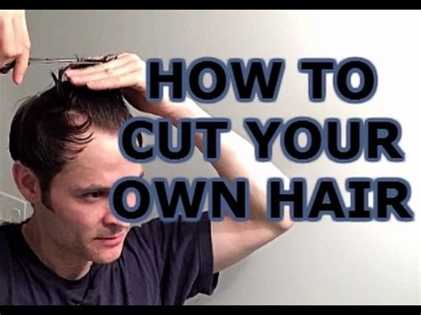 how to style your own hair how to cut your own hair s hairstyle 8989