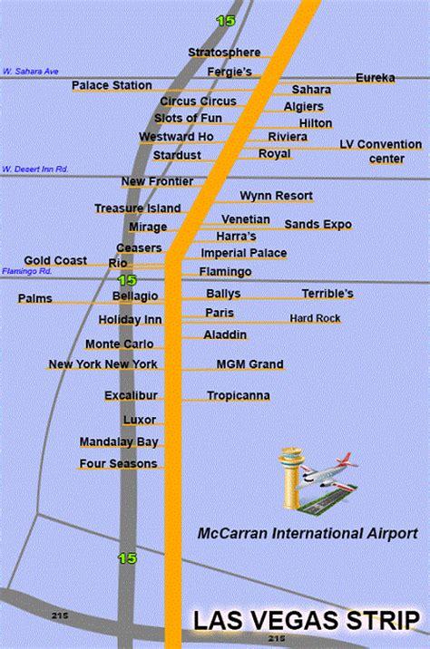 lv strip map las vegas strip mappery