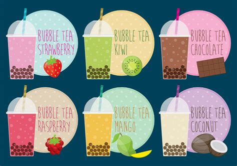 Are you searching for boba tea png images or vector?. Bubble Tea - Download Free Vectors, Clipart Graphics ...