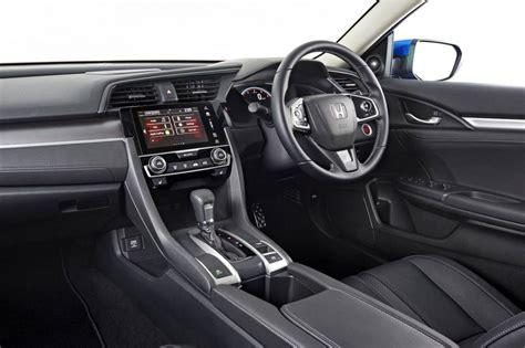 honda civic interior 2016 honda civic sedan priced from au 22 390 debuts 1 5