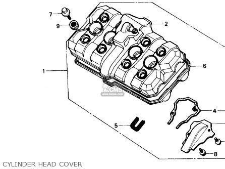 honda cbr600f hurricane 1989 k usa parts list partsmanual partsfiche
