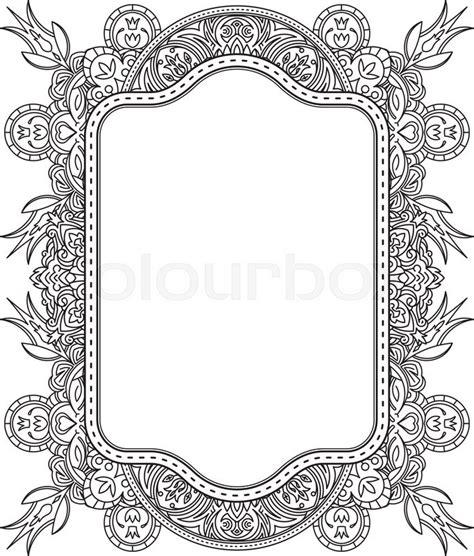 ethnic template  design wedding invitations