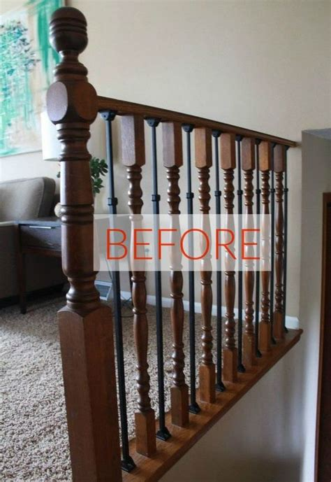 stop   banister makeovers  ah mazing