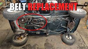 Craftsman Utility Vehicle - Drive Belt Replacement
