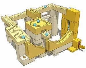 Marble run toy blocks, part 1