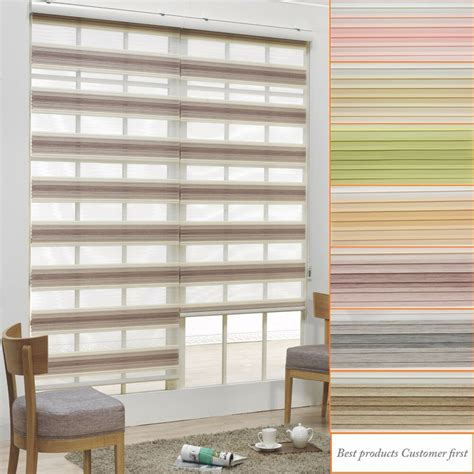 bc double roller blinds zebra shade home window blind