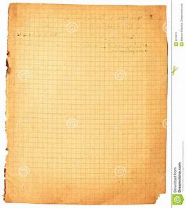 Vintage Lined Paper Stock Photos - Image: 3240873