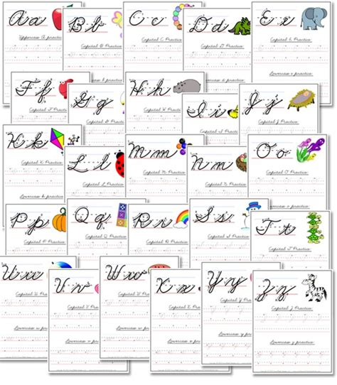 cursive handwriting worksheets confessions