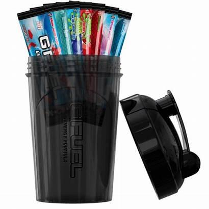 Starter Gfuel Kit Blacked Pack Shaker Fuel