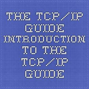 The Tcp  Ip Guide  Ip Guide