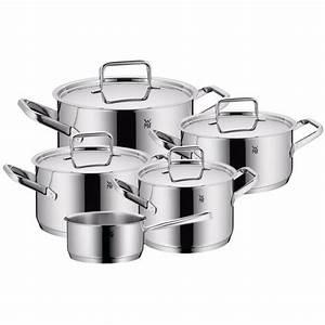 Wmf Made In Germany : wmf trend plus 9 piece cookware set made in germany ebay ~ A.2002-acura-tl-radio.info Haus und Dekorationen