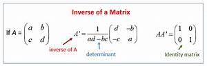Inverse Matrix Berechnen Determinante : zero identity and inverse matrices solutions examples videos worksheets games activities ~ Themetempest.com Abrechnung