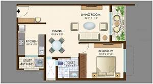 Photo : Floor Plans For 3 Bedroom Flats Images Interior