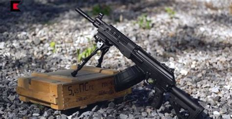 Russia Adopts The Rpk-16 Light Machine Gun
