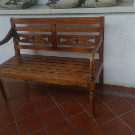 la madera solida en los muebles de segunda mano nota