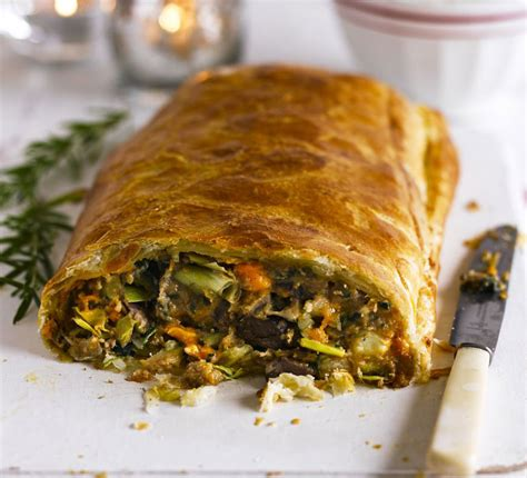 Chestnut, Spinach & Blue Cheese En Croûte Recipe Bbc