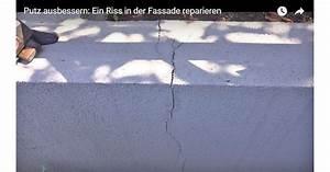Risse In Der Fassade : risse in der fassade ausbessern video anleitung ~ Orissabook.com Haus und Dekorationen