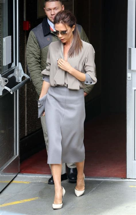 shades  gray celeb street style victoria beckham