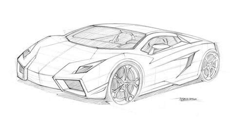 lamborghini sketch lamborghini sketches drawings sketch coloring page