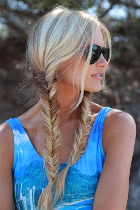 fishtail braid hairstyles  summer wardrobelookscom