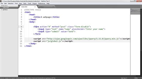 form button html disable form button submit youtube