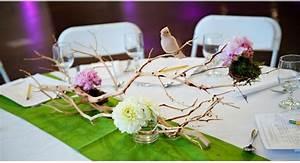 Mariage Theme Champetre : decoration mariage theme oiseau mariageoriginal ~ Melissatoandfro.com Idées de Décoration