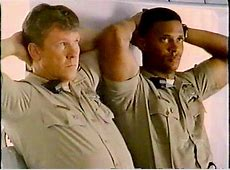 Guys in Trouble Larry Wilcox and David Ramsey in CHiPs