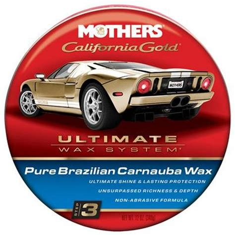 Mothers 05500 Original Formula Carnauba Cleaner Wax ...