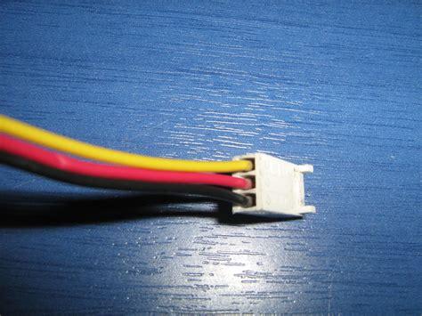 Blue Computer Fan Wire Diagram by Fios Da Cooler Como Ligar No Molex Fontes E Energia